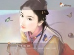 illustration_painting_artwork_of_Chinese_beauty_in_ancient_costume_bi562